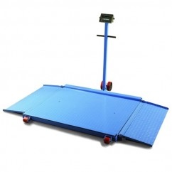 Mitaco NC1000A - 1000x1000mm Industrial Mobile Floor Scale - 1000kg Capacity