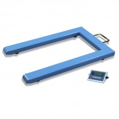Mitaco ND1000 - U Shape Industrial Mobile Floor Pallet Scale - 1000kg Capacity Oversized
