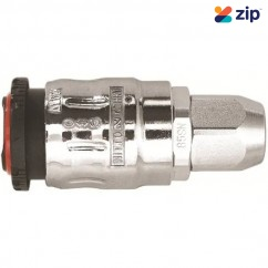 NITTO NCFBH85SN - Full Blow Cupla Ø8.5 x Ø12.5 Aluminum Urethane Hose Socket