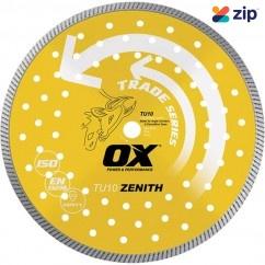 "OX-Tools OX-TU10-6 - 6"" 10mm Universal/Hard Trade Turbo Diamond Blade  Cutting & Grinding Discs"