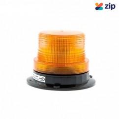 ACOT500 AL1206ABM - 12-24V Small 6 LED Amber Beacon Light Magnetic Base