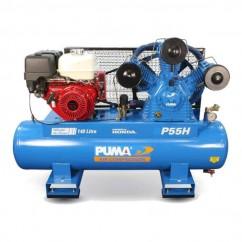 Puma P55HES - 415V 50CFM 13HP GX390 Honda Petrol Compressor Three Phase