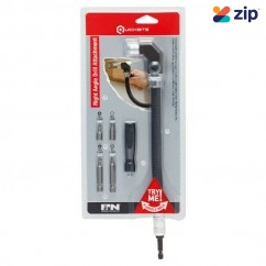 P&N 107ADF300 - 5 Piece Flexible Mini Right Angle Drill Attachment Set
