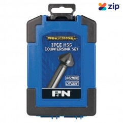 P&N 107CS0003 - 3 Piece HSS Countersink Drill Bit Set