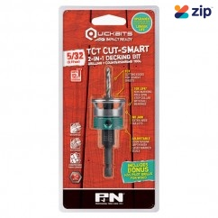 "P&N 107CSC002 - 5/32"" 12 Gauge Quickbit TCT Cut-Smart Countersink and Drill Bit"