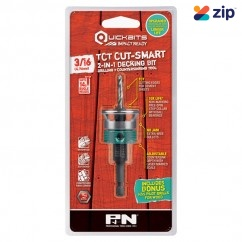 "P&N 107CSC004 - 3/16"" 14 Gauge Quickbit TCT Cut-Smart Countersink and Drill Bit"