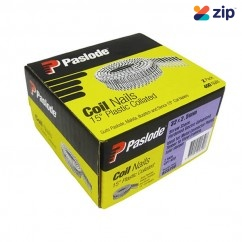 Paslode B25250 - 32 x 2.5mm Screw Electro Galvanised Plastic Collated Coil Nails 2Pack