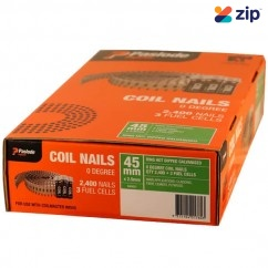 Paslode B40021 - 2.5x45mm Ring HDG Nails Suits ForCoil Master IM50S