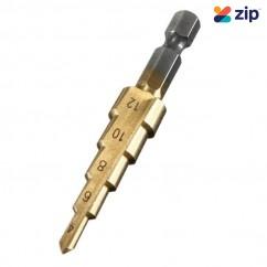 ProAmp PRO STEP 4-12 mm HSS Tin Coated Step Drill Bit Step Drills