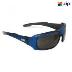 Prochoice 2002RB 99.9% UV Protection Royal Blue Smoke Safety Glasses Head, Eye & Ear protection