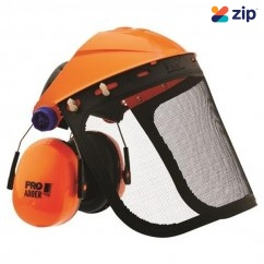 Prochoice BGVMADD - Striker Browguard w/ Mesh Visor & Adder Earmuff Combo Kit Head, Eye & Ear protection