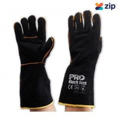 Prochoice BGW16 - Black Jack - Black & Gold Glove Welding Gloves Gloves