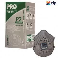 Prochoice PC823 - Disposable Dust Masks Promesh P2+Valve+Carbon - Box of 12