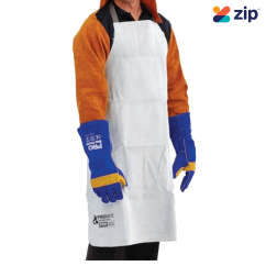 Prochoice PSA1 - Leather Welding Apron 900 x 600 Web Strap Safety Products