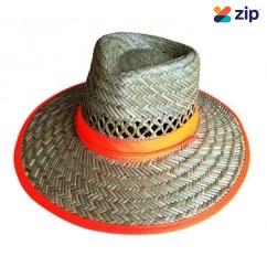 Prochoice SH Hi-Viz Band Straw Hat Series Head, Eye & Ear protection