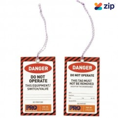 ProChoice STD12575- Red Danger Safety Tags Safety Tapes & Tags
