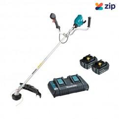 Makita DUR369APT2 - 36V (18V x 2) 5.0Ah Brushless U-Handle Line Trimmer Kit Oversized