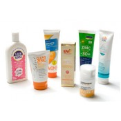 Sunscreens & Barrier Creams