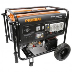 Promac GT068E - 6.8kva Electric Start Petrol Pure Sine Wave Tradie Generator Generators