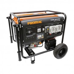 Promac GT081E - 8.1kva Electric Start Petrol Pure Sine Wave Tradie Generator Trade
