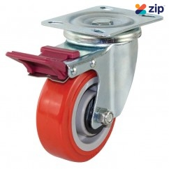 Richmond S4044B - 100mm Poly Nylon Wheel 200kg Capacity Castor  Castors