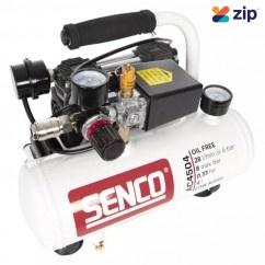 Senco AC4504 - 4L 0.33HP Single Tank Oil Free Low Noise Direct Drive Air Compressor Single Phase