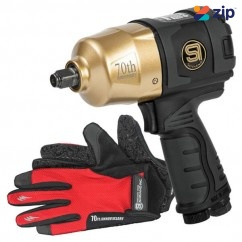 "Shinano SI-1490BG - 1/2"" 70th Anniversary Gold Edition Air Impact Wrench"