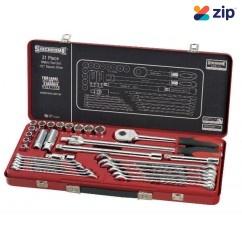 "Sidchrome SCMT10236  - 31 Piece Metric 1/2"" Drive Socket & Spanner Set Socket Sets"
