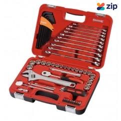 "Sidchrome SCMT10811 - 69 Piece 3/8"" Drive Metric & A/F Combination Tool Set Tool Kit"