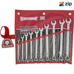 Sidchrome SCMT22208 - 10 Piece Ring Open End Metric Spanner Set Metric Tool Kit