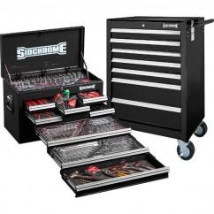 Sidchrome SCMT10159B - 262 Piece Black Metric/AF Tool Kit Tool Kit