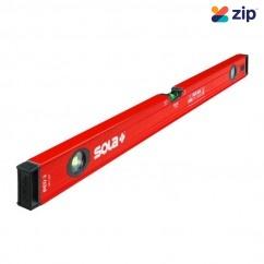 Sola RED3120 - 3  Vial 1200MM Red Big Spirit Levels Measuring Level