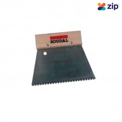 Soudal 112946 - 180mm Fine Notched Trowel Adhesive Spreader Concrete Hand Tools
