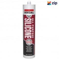 Soudal 121661 - 300ml Brilliant White All Purpose Silicone Lubrication Equipment & Consumables