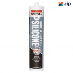 Soudal 127778 - 300ml Grey Roof & Gutter Silicone Grease