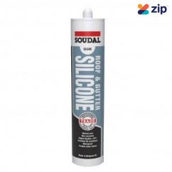 Soudal 127779 - 300ml Clear Roof & Gutter Silicone Grease