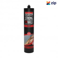 Soudal 144898 - 350g Strong As Nails Fix It Solvent Based Multi-Purpose Construction Adhesive Adhesives-Sealants
