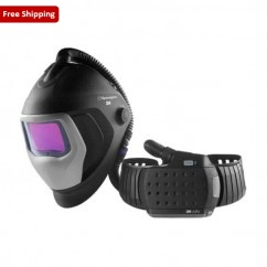 Speedglas 507726HD -  Welding Helmet 9100XXi Air with Heavy Duty Adflo Powered Air Respirator  Welding Apparel