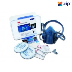 3M 7528 - 3M GP2 7500 SeriesHalf Face Welder's Reusable Respirator Kit M7528  Breathing Apparatus