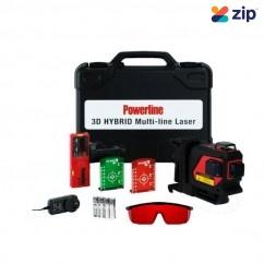 Powerline 3D Hybrid - MK II Multi-line Laser 50064 Lasers - Cross Line & Dot Lasers