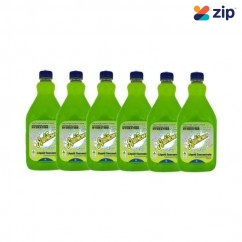 Sqwincher SQ0028 - 6 Pack 2L Lemon Lime Electrolyte Liquid Concentrate Hydration & Snacks