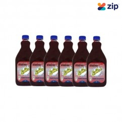 Sqwincher SQ0046 - 6 Pack 2L Wild Berry Electrolyte Liquid Concentrate Hydration & Snacks