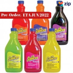 Sqwincher SQ0051 - 6 Pack 2L Mixed Flavours Electrolyte Liquid Concentrate Hydration & Snacks
