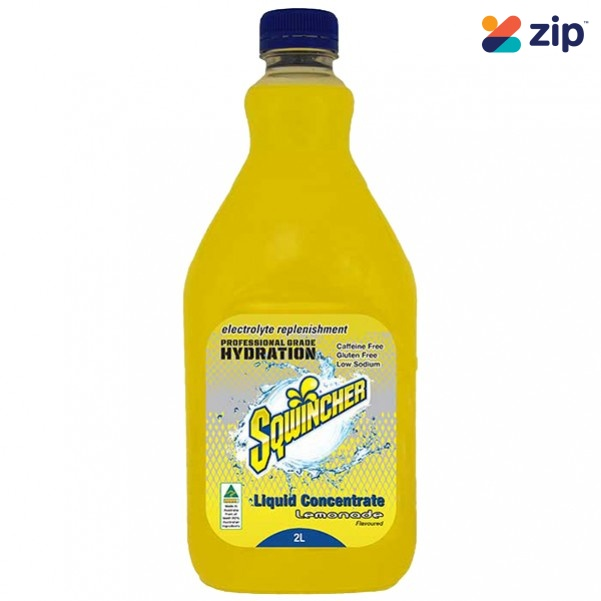 Sqwincher SQ0052 - 2L Lemonade Electrolyte Liquid Concentrate Hydration
