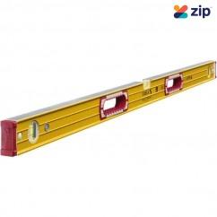Stabila 196-2/200 - 2000mm Hand HolesBox Frame Ribbed Trade3 Vial Spirit Level with Non Slip End Caps Measuring Level