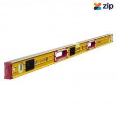 Stabila 196-2LED/120 - 1200mm Illuminated Box Frame Ribbed 3 Vial LED Spirit Level Measuring Level