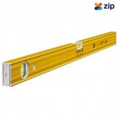 Stabila 80AM/120 - 1200mm Box Frame Magnetic Trade 2 Vial Ribbed Spirit Level  Measuring Level