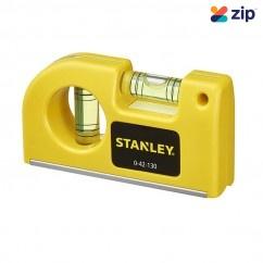 Stanley 0-42-130 - 8.7cm 2 Vials Pocket Level Levels
