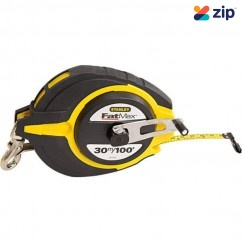 Stanley 34-138 - 30M FatMax Long Steel Tape Measuring Tape
