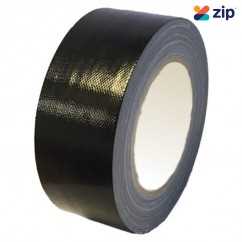 Stylus 140 – 48mm x 25M General Purpose Cloth Tape Black 8329 Safety Tapes & Tags